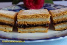 Reteta culinara Prajitura cu foi cu bulion din categoria Prajituri. Specific Romania. Cum sa faci Prajitura cu foi cu bulion
