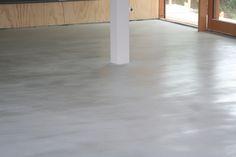 Pandomo Floor speciaal op kleur gemaakt door Vloer en Zo, project in Broek in Waterland.