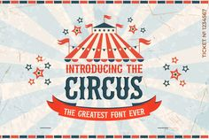 Welcome to the circus! Where all of the performers are happy to help with all of your design needs and with their quirky kicks and flicks, you'll love them! Download now and use across a wide range of your work!