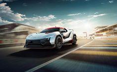 Herunterladen hintergrundbild tamo racemo, 2017, auto-rennen, rennstrecke, sport-coupé, 4k, tata