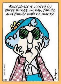 Maxine cartoons | Maxine cartoon - Aging Support Group