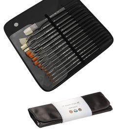 Amazon.com: Brushes for Watercolor, Acrylic Paint & Oil Art Set - This Is a Set of Art Paint Brushes for Professionals, Beginners or Students - 15 Pc Natural Bristle & Synthetic Brushes - Paint Brush Set with Widest Variety of No Shed, Long Handles Paint Brushes - Artisan Art Supplies with Lifetime Warranty