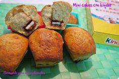 Mini cakes con kinder ~ Cocinando para mis cachorritos