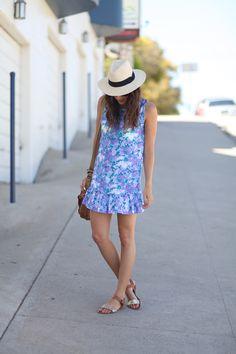 The cutest bright summer dress via Summer Wear, Spring Summer Fashion, Summer Outfits, Cute Outfits, Summer Dresses, Casual Summer, Fashion Moda, Teen Fashion, Womens Fashion