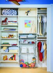 California Closets Kids Reach-In Closet