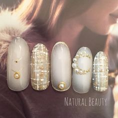 wedding nails? less beads