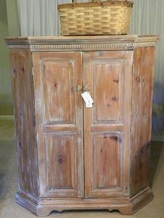 The Vintage Nest: DIY White Washing or Pickling Furniture