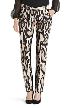 DVF | Straight from the runway, the Mary is a versatile statement pant. http://on.dvf.com/13pPV2o