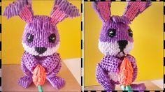 conejo de origami 3d // tutorial de origami 3d // 3d origami rabbit
