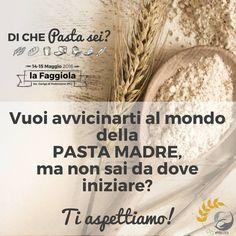 DI CHE Pasta sei? Pasta Madre Day 14 e 15 Maggio Podenzano (PC) #pmday2016