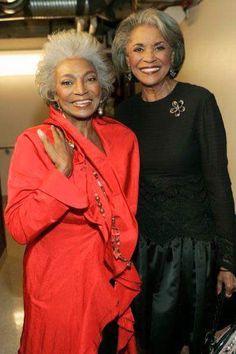Iconic Beauty: Nichelle Nichols and Nancy Wilson