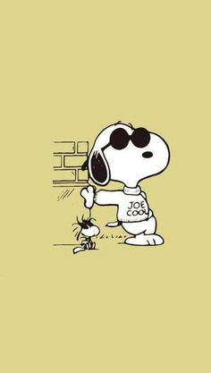Shop Joe Cool snoopy t-shirts designed by buckland as well as other snoopy merchandise at TeePublic. Snoopy Wallpaper, Cartoon Wallpaper, Iphone Wallpaper, Phone Backgrounds, Snoopy Images, Snoopy Pictures, Peanuts Cartoon, Peanuts Snoopy, Snoopy Und Woodstock