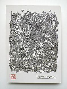 Supermundane Exhibition Flyer