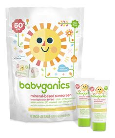 Look at this SPF 50+ Mineral Sunscreen Lotion 12-Tube Bag - Set of Three on #zulily today!