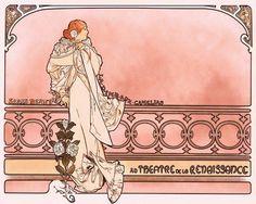 Art Nouveau Gift Wall Decor Art Alphonse Mucha by ArtdeLimaginaire