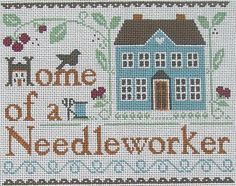 Ewe and I Needlepoint Home of a Needleworker On Sale