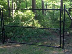 driveway fence | ... driveway gate | Dog Fences By Pet Playgroundz | Nonelectric Dog Fence