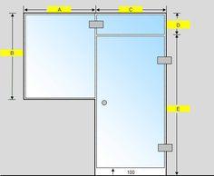Saunan lasiseinä GlassHouse ovi + lisäpala + ikkuna saranat sivussa Lockers, Locker Storage, Cabinet, Mirror, Furniture, Home Decor, Clothes Stand, Decoration Home, Room Decor