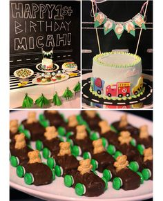 The Busy Budgeting Mama: Micah's Transportation Themed First Birthday Party-The Full Recap