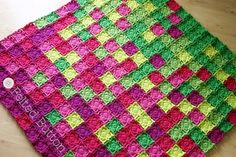 Felted Button - Colorful Crochet Patterns: Felted Button Temperature Blanket CAL 2017