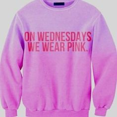 I would totes wear this on Wednesday. :)  Hahaha! mean girls <3