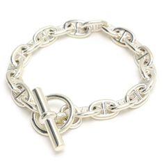Hermes chaîne dancre 925 Bracelet en argent par rubiproducts 760€
