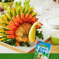 Cute Turkey and its edible