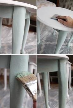 How to use Chalky finish paint - tutorial and great before/after!