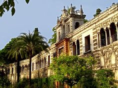 The Alcazar in Seville, Spain... the most beautiful place I have ever been!