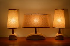 Add warmth and style to your space with these mid century modern pottery lamps. Mid Century Modern Lamps, Danish Modern, Lamp, Lighting, Old Lamps, Modern, Mid Century Danish, Pottery Lamp, Modern Lamp