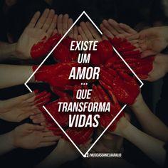 """""""Quer sentir? É o amor de Jesus."""" ♥ """"Daniela Araújo """" [ DesignBy: http://eujosemar.tumblr.com/ ]"""
