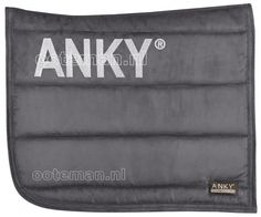 Anky Winter Collection 2014 Saddlepad in Pencil Grey