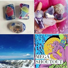 : These are the winners of our overnight MEGA SHOUT OUT. Please go follow and show them some love.  @reikisacredcircles   @sofiiee5113   @magickbubbles   If you didn't win dont be discouraged. We do these all the time. Picking the winners is never easy and we wish we could choose everyone. So please try again next time. If you unfollow after the winners have been posted then you will be banned from entering all megas and giveaways we host.