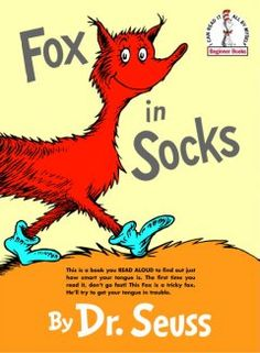 "Letter X = Fox. A collection of tongue twisters that is ""an amusing exercise for beginning readers."""