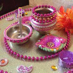 Beautiful matki decoration ideas for pooja