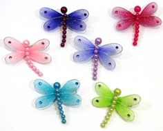 Dragonfly Hair Clips $1.99 per clip