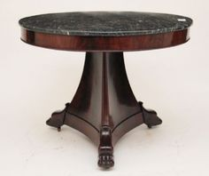 MARBLE TOP CENTRE TABLE on AntiqueForSale from Martlesham Antiques