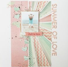 scrap corner: Summer Edition of 30x30: layouts & text