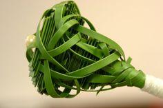 Manipulated Grass Arrangement by Pim van den Akker