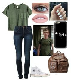 Designer Clothes, Shoes & Bags for Women Teen Girl Outfits, Edgy Outfits, Outfits For Teens, Cool Outfits, Fashion Outfits, Girl Greaser Outfit, 80s Outfit, The Outsiders Preferences, The Outsiders Ponyboy