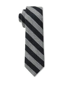 58% OFF Gitman Men's Stripe Tie, Black