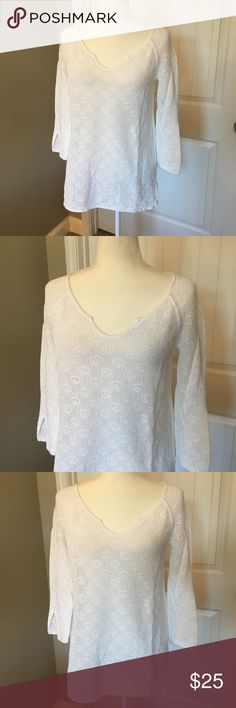 Lilly Pulitzer Sweater Worn once and is in perfect condition! So pretty and lightweight. Lilly Pulitzer Sweaters Cardigans
