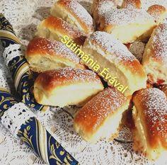 Aki egyszer ráérez a kelt tészta készítésére, az biztos, hogy a rabjává válik. Lehet, én már függő is vagyok. Hungarian Recipes, Winter Food, Hot Dog Buns, Sweet Recipes, Paleo, Food And Drink, Low Carb, Bread, Snacks