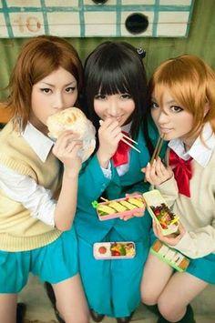 (Kimi ni Todoke) <3 Chizu, Sawako & Ayane Cosplay OH MY GOODNESS YESH!!!!!!!!