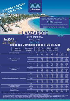 Super Oferta Lanzarote 1 Verano 2014 ultimo minuto - http://zocotours.com/super-oferta-lanzarote-1-verano-2014-ultimo-minuto-6/