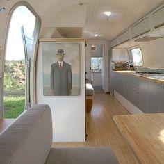 Restored Airstream Trailer