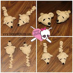 Mini Mouse Cat Toy pattern by Forever Stitchin ~ free pattern ᛡ