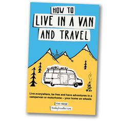Live in a Van and Travel book