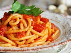 pici with garlic / pici all'aglione #pomodoro #ricetta #recipes #tomato #recipe #italianrecipe