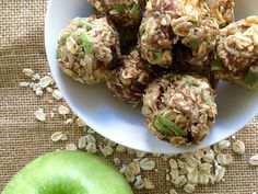 Packed with fresh apples, dried cranberries, nuts, and warm spices, these bite-sized snacks are full of protein and boost your ...